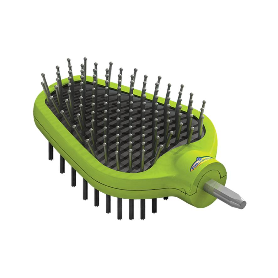 Furminator Dual Grooming Brush for Cats and Dogs
