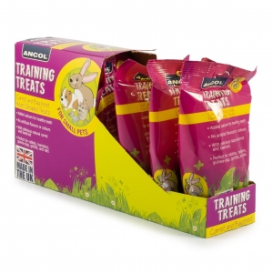 Ancol Just 4 Pets Carrot and Beetroot Hearts 90gm