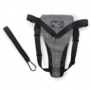 All for Paws Travel Harness Grey