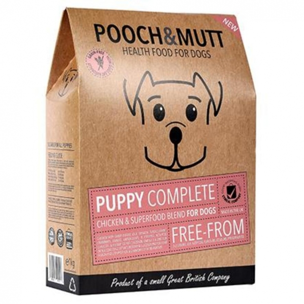 Pooch and Mutt Superfood Puppy Food with Chicken 1kg