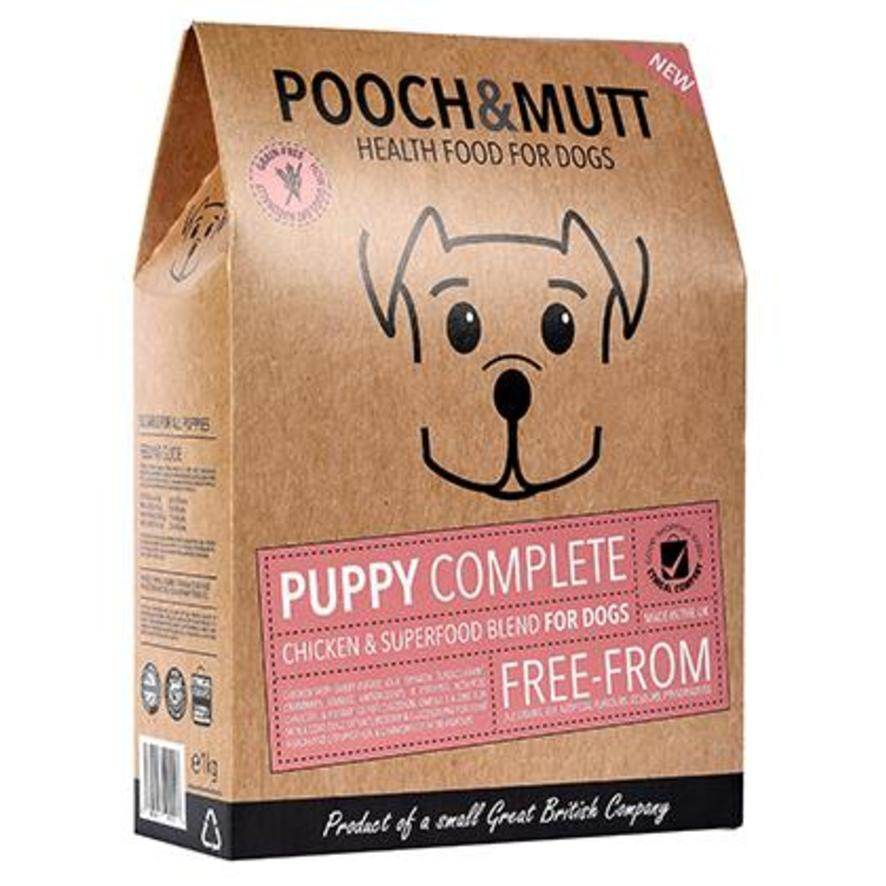 Pooch and Mutt Superfood Puppy Food with Chicken and Sweet Potato 1kg