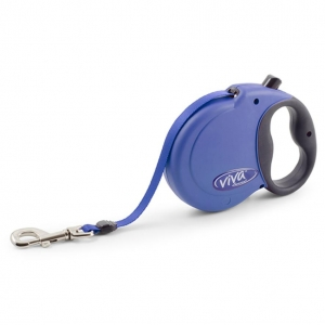 Ancol Viva XL Tape Lead Blue