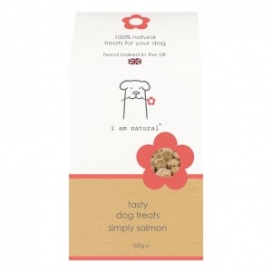 I am Natural Simply Salmon Dog Treats 100gm