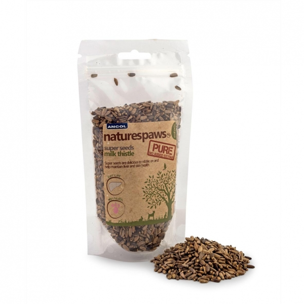 Ancol NaturesPaws Super Seeds Milk Thistle 140gm