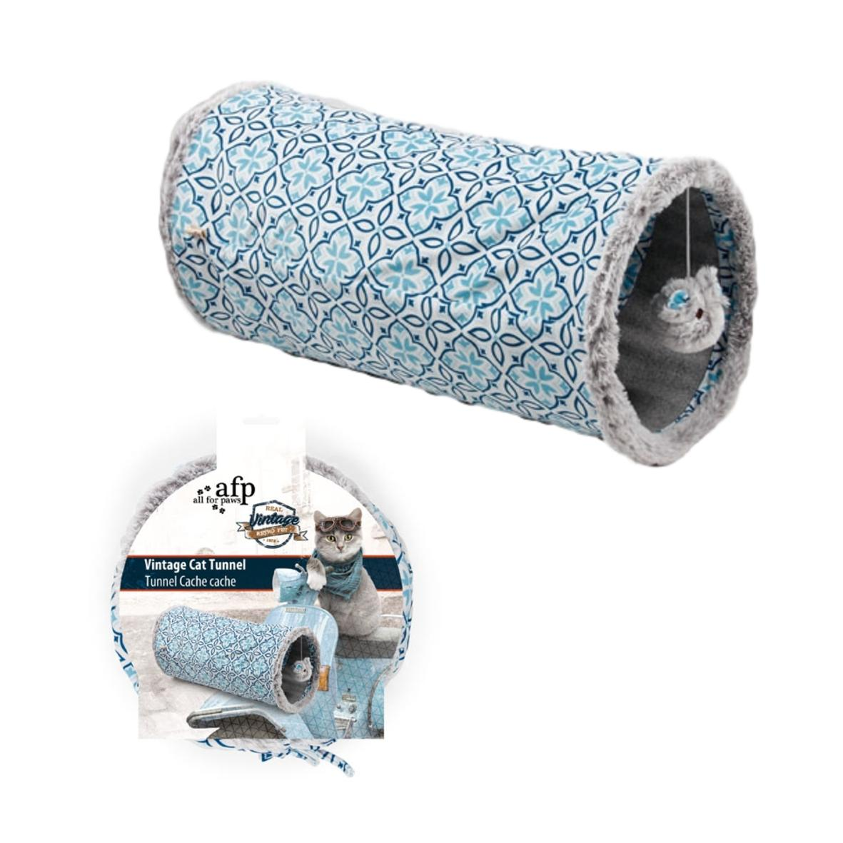 All for Paws Vintage Cat Tunnel 24cm x 47cm