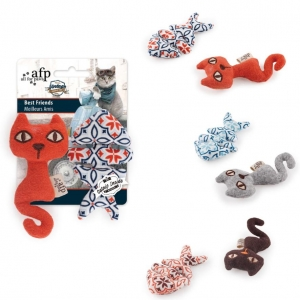 All for Paws Vintage Cat Best Friends Duo 2pk