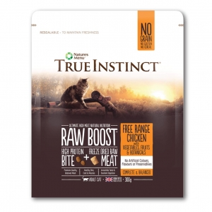 True Instinct Raw Boost Cat Food Free Range chicken (Two Sizes)