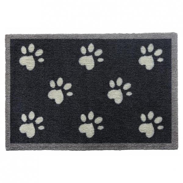 "Howler & Scratch Pet Mat ""Big Paw 2"" Navy Small"