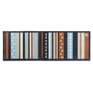 "Howler & Scratch Pet Mat ""Stripe 3"" Orange Large"