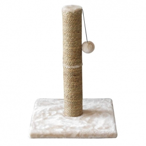 Lazy Bones Sisal Plush Cat Scratcher 45cm
