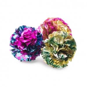 Ancol Crinkle Balls 3pcs