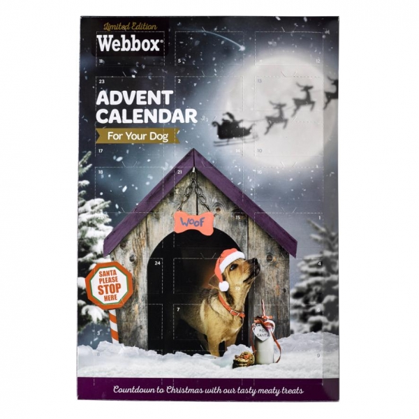 Webbox Meaty Advent Calendar for Dogs