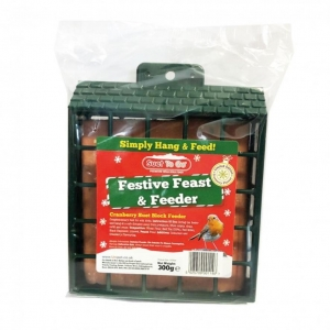 Suet to Go Festive Feast and Feeder 300gm