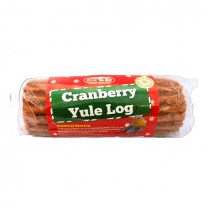 Suet to Go Cranberry Yule Log Suet Stick 500gm