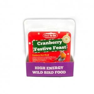 Suet to Go Cranberry Festive Feast 320gm