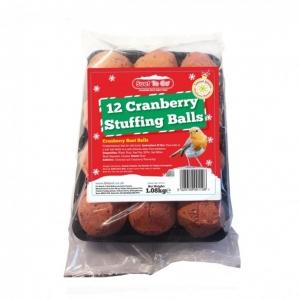 Suet to Go Cranberry Stuffing Balls 90gm 12pcs