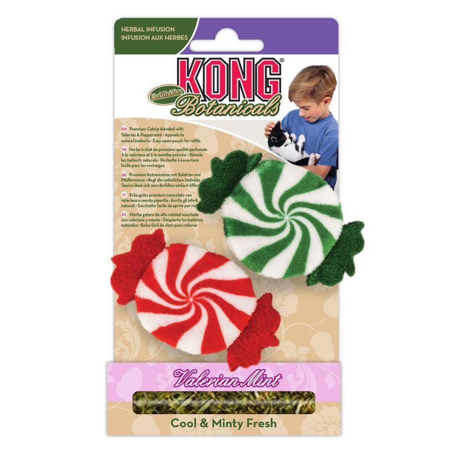 KONG Holiday Botanicals Refillables Peppermints 2pcs