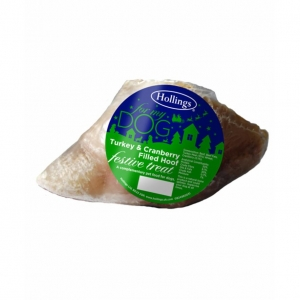 Hollings Festive Filled Hoof with Turkey and Cranberry 1pc