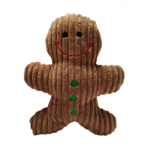 Ancol Squeaky Gingerbread Man