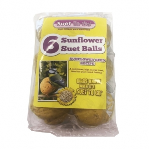 Suet To Go Sunflower Suet Balls 6pc
