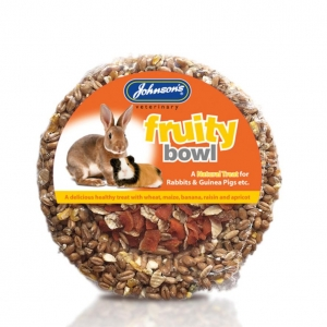 Johnsons Fruity Bowl for Rabbits 180gm