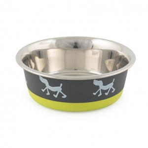 Ancol fusion Dog Bowl Lime Green
