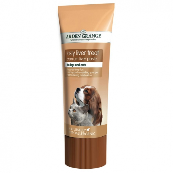 Arden Grange Tasty Liver Treat Paste 75gm