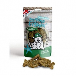 Dog Gone Fishin Red Fish Crunchies with Parsley