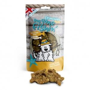Dog Gone Fishin Red Fish Crunchies Plus with Glucosamine