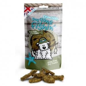 Dog Gone Fishin Red Fish Crunchies with Fennel