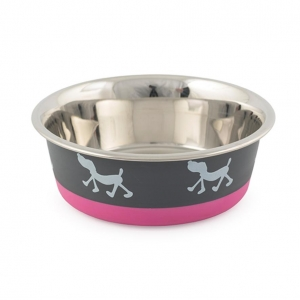Ancol Fusion Dog Bowl Pink