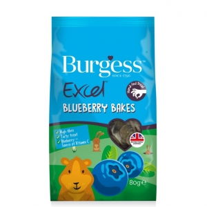 Burgess Excel Blueberry Bakes 80gm