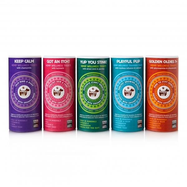 Hownd Hemp Wellness Treats Line Up