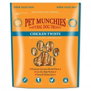 Pet Munchies Chicken Twists Super Value Pack 290gm