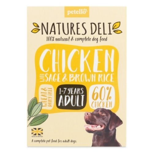 NATURES DELI Adult Chicken with Sage & Brown Rice 400g