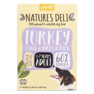 NATURES DELI Adult Turkey with Sage & Brown Rice 400g