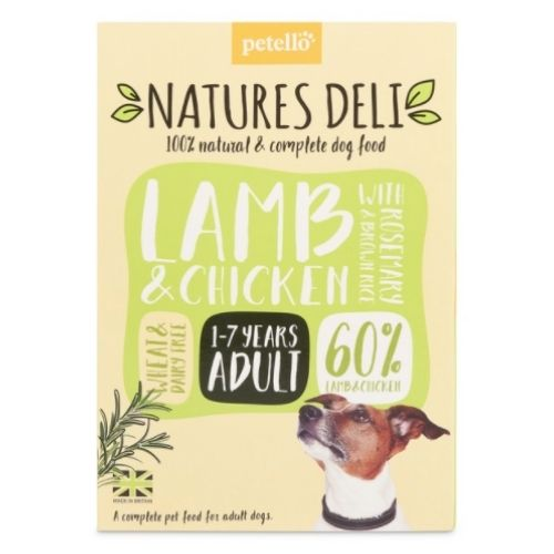 NATURES DELI Adult Lamb & Chicken with Rosemary & Brown Rice 400g
