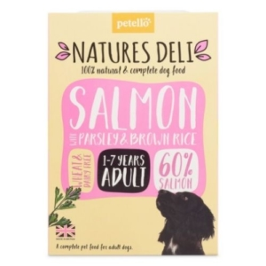 NATURES DELI Adult Salmon with Parsley & Brown Rice 400g