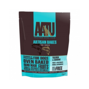 AATU Artisan Bakes with Salmon and Sardine 150gm
