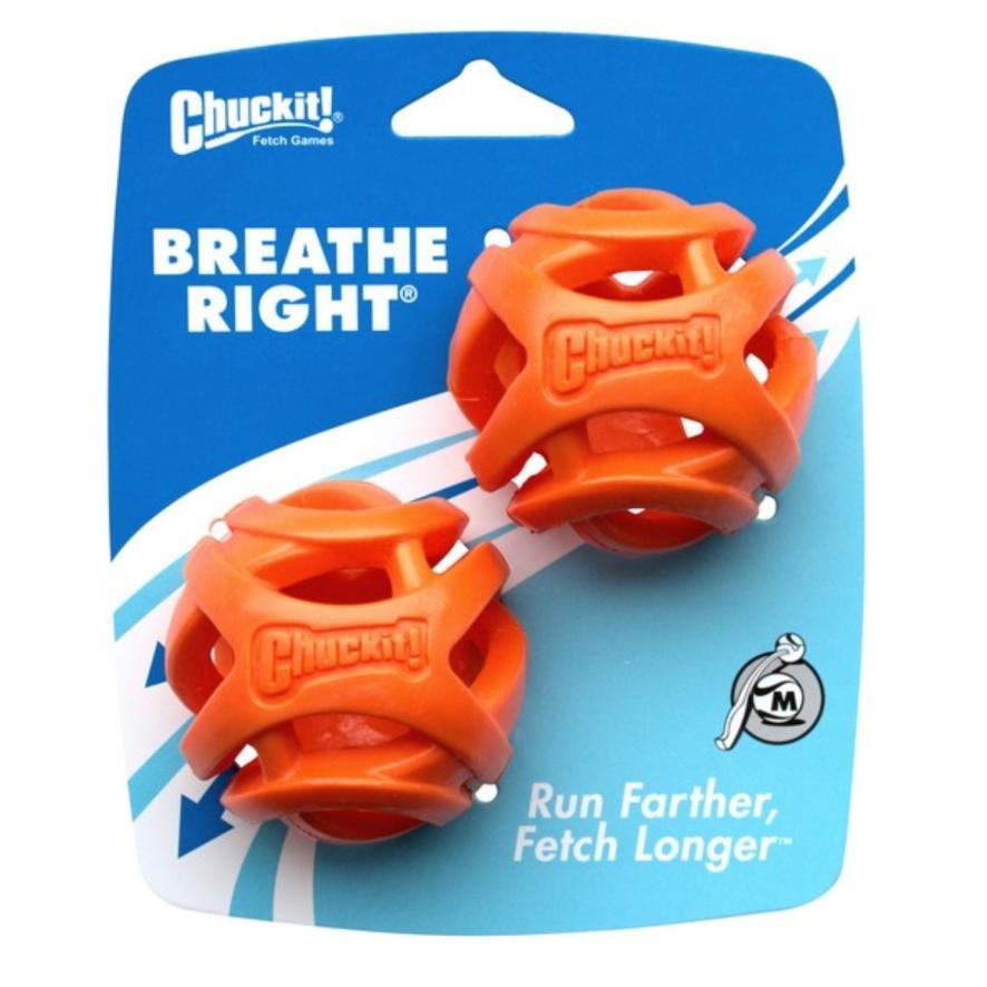 Chuckit! Breathe Right Ball Medium 6.5cm 2pcs