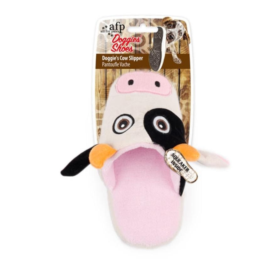 All for Paws Doggie Slipper Cow 21cm