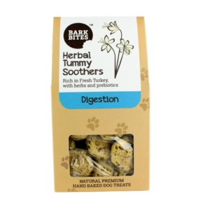 Bark Bites Herbal Tummy Soothers with Turkey 100gm