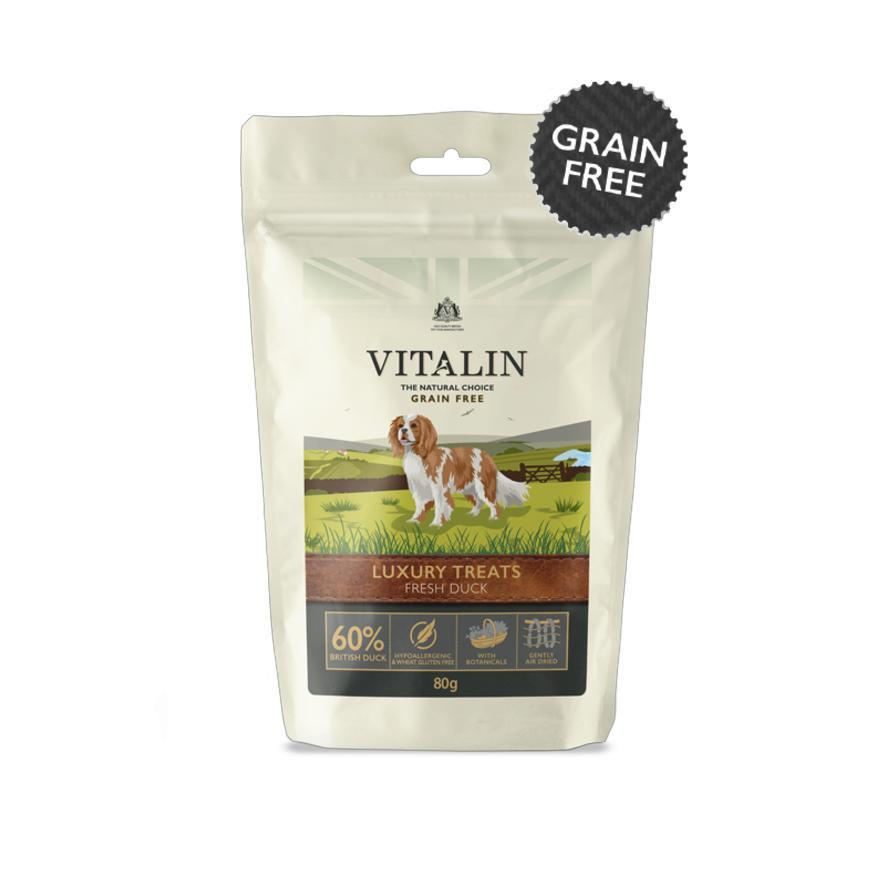 Vitalin Luxury Dog Treats with Duck 80gm 573835