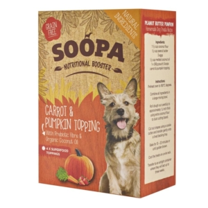 Soopa Nutritional Booster Carrot and Pumpkin Topping
