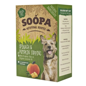 Soopa Nutritional Booster Spinach and Pumpkin Topping 4 x 80gm