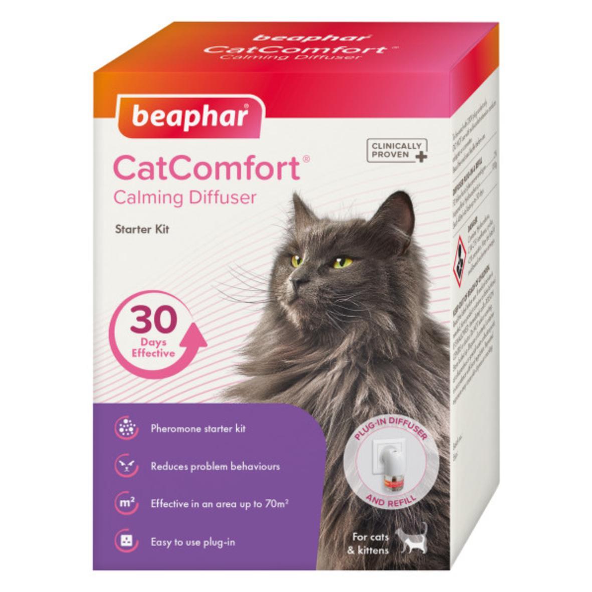 CLEARANCE BEAPHAR CatComfort Calming Diffuser 48ml