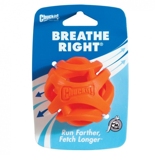 Chuckit! Breathe Right Ball Medium 6.5cm SINGLE