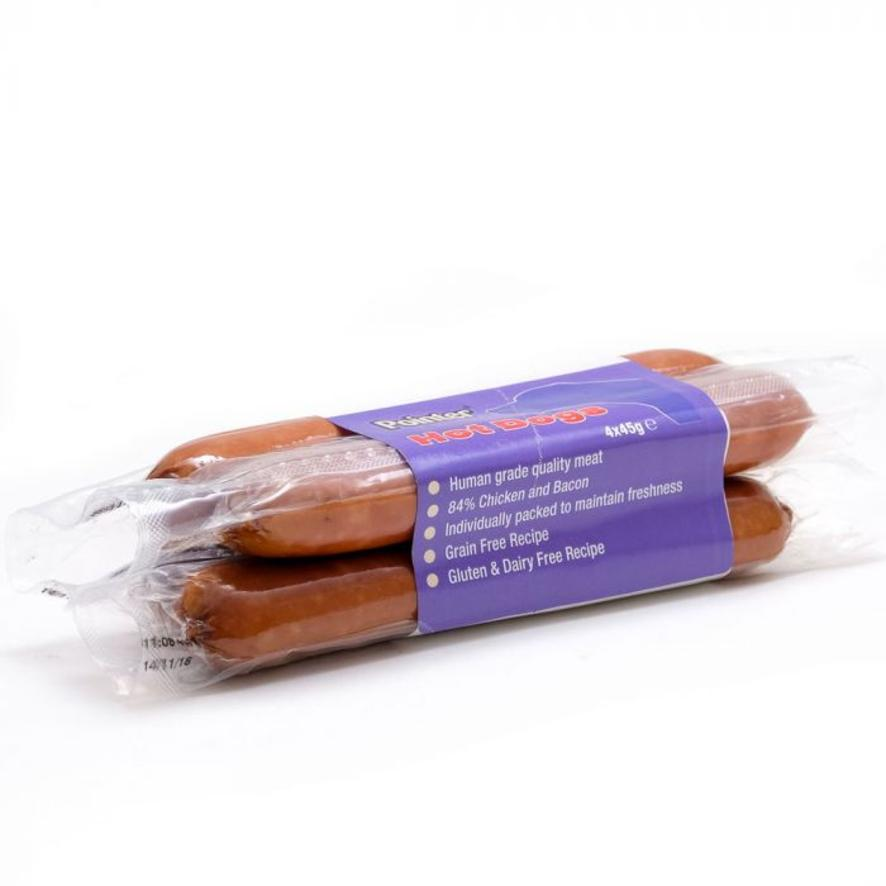 Pointer Hot Dogs (Grain Free) 4pk