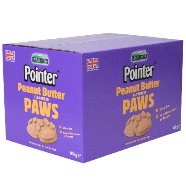 Pointer Peanut Butter Paws 10kg