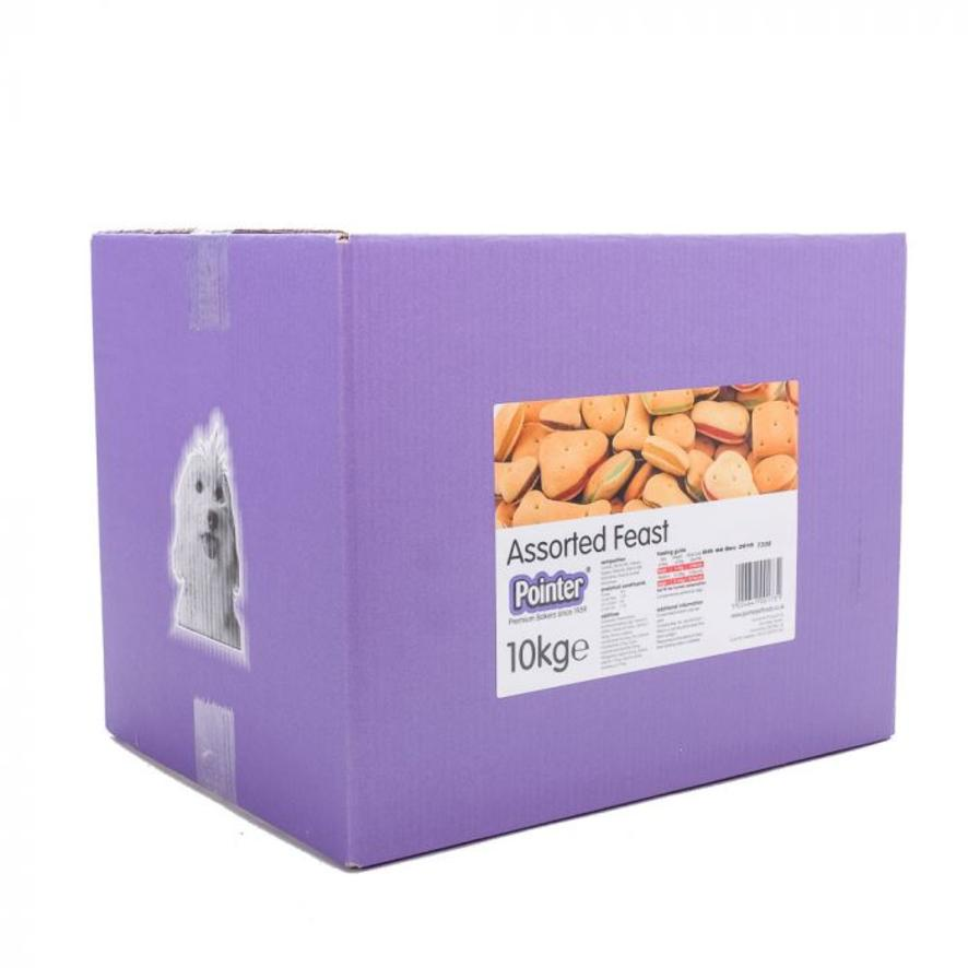 Pointer Assorted Feast Biscuits (Boxed) 10kg